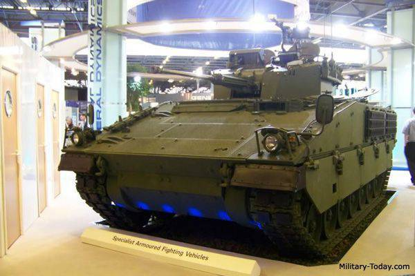 General Dynamics ASCOD 2 armored vehicle family project