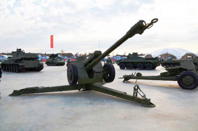 Howitzer D-30 en servicio en el ejército sirio