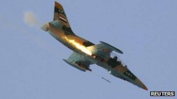 シリアのパイロットは1週間で193を出発しました