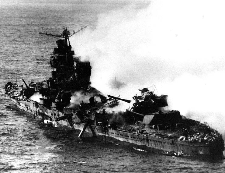 O que um navio pode fazer dez toneladas de explosivos?