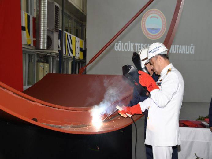 Medien: Die Türkei blieb mehrere Jahre bei der Verlegung eines neuen dieselelektrischen U-Bootes