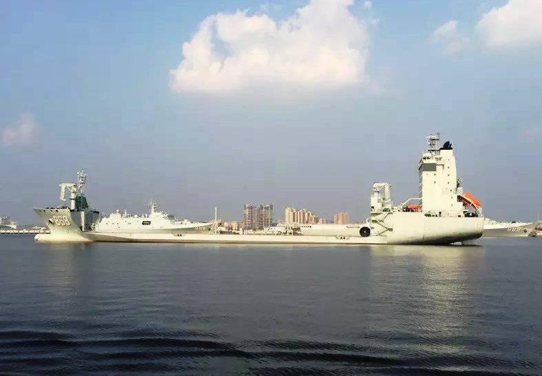 Médias: la construction des plates-formes MLP 868 Donghaidao montre la direction du développement de la flotte chinoise