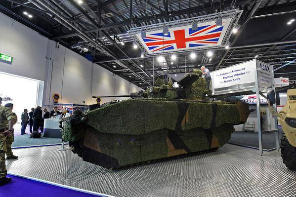 Ajax / Scout SV Armored Vehicles Project (UK)