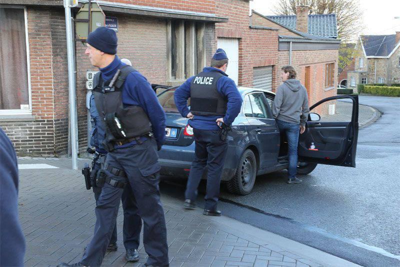 Strange anti-terrorism raid in Belgium