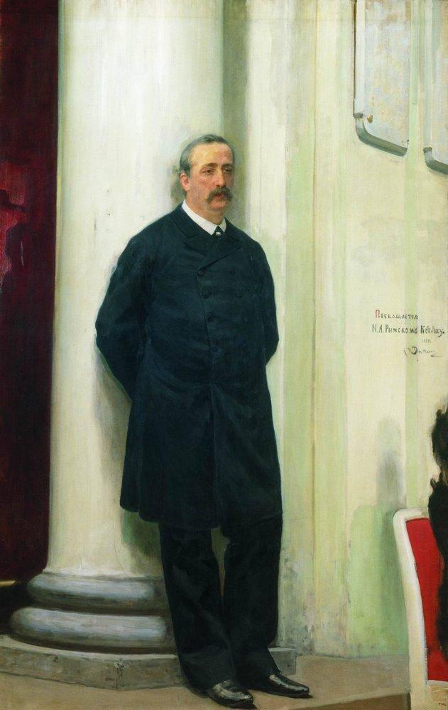 Ein Mann aus zwei Welten. Alexander Porfirevich Borodin