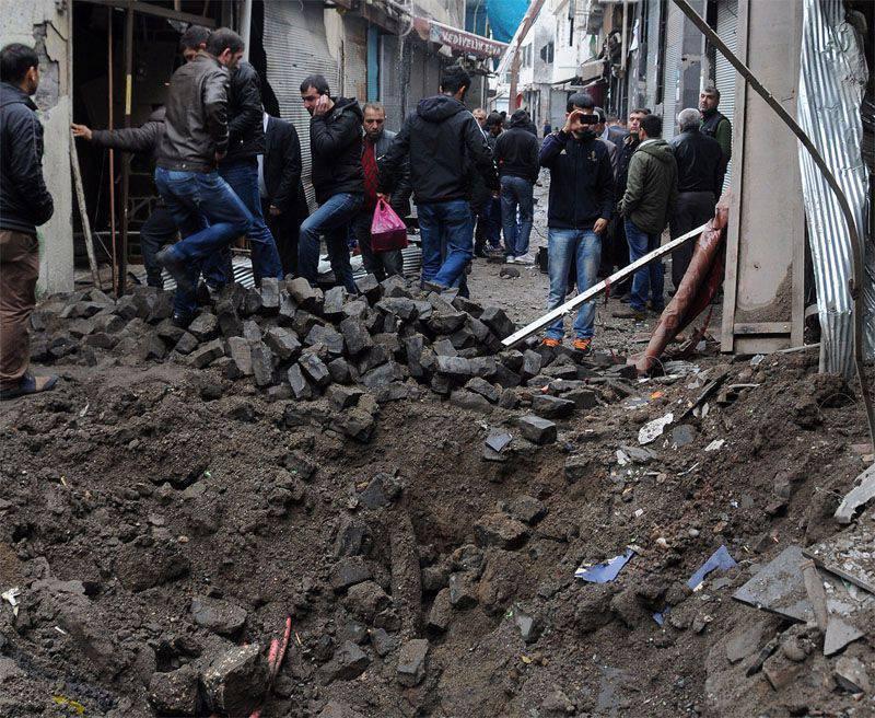 No sudeste da Turquia durante a batalha com as forças armadas curdas matou um soldado turco