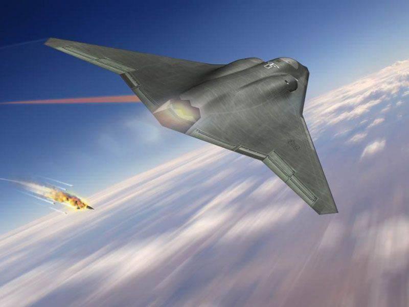 Northrop a introduit le concept de chasseur de sixième génération