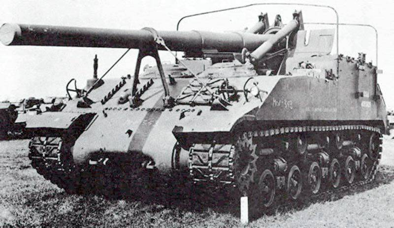 Selbstfahrende Artillerie-Installation M40 Gun Motor Carriage (USA)