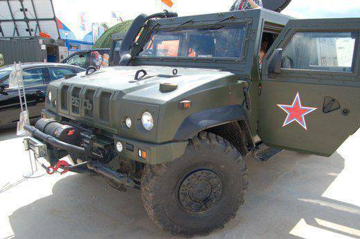"""Armored cars IVECO """"Lynx"""" in the Russian army in Syria: Anatoly Serdyukov was right?"""