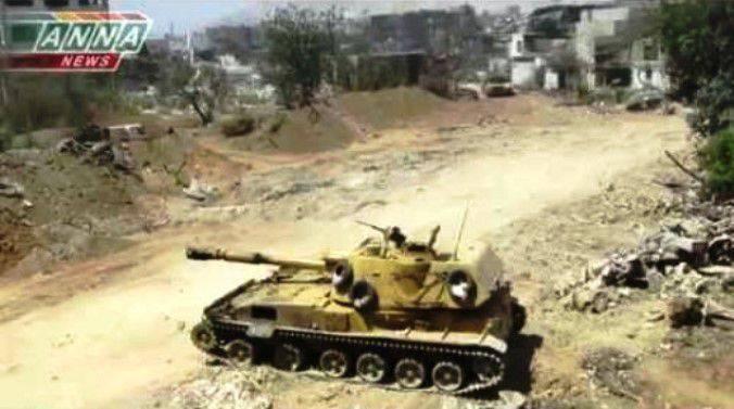 """सोवियत """"बबूल"""" सीरिया में आतंकवादियों को मारना जारी रखता है"""
