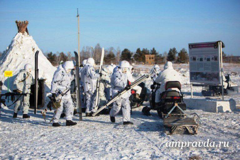 For the cadets, the PALFUL has built an ice training ground