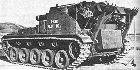 Aste automotore per artiglieria M41 Motor Carriage Propulsore (USA)