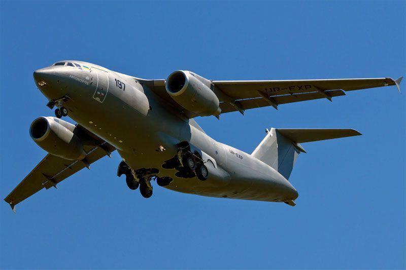 Ad Antonov, decisero di non chiamare l'An-178 né Bandera né Cyborg