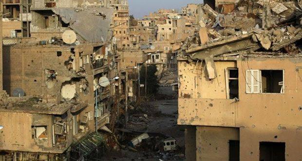 Infolge des Beschusses von Militanten der Schule in Deir ez-Zor starben mindestens 9-Kinder