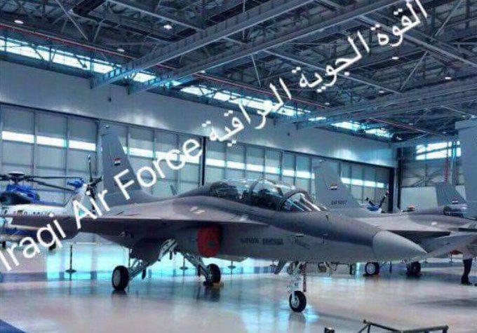 5 primeiro avião T-50IQ construído para o Iraque