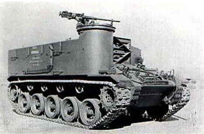 Proyecto de mortero autopropulsado T38 (USA)