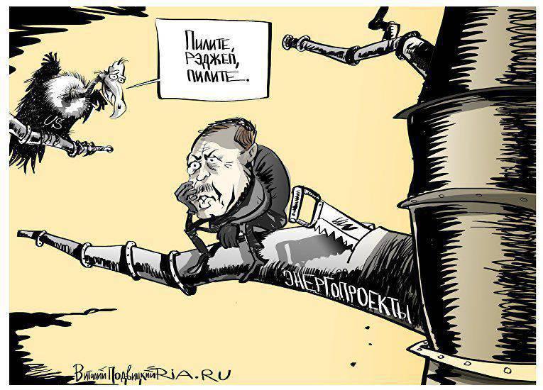 E. Satanovsky - Isolement de la Turquie. Le reptile venimeux sera acculé.