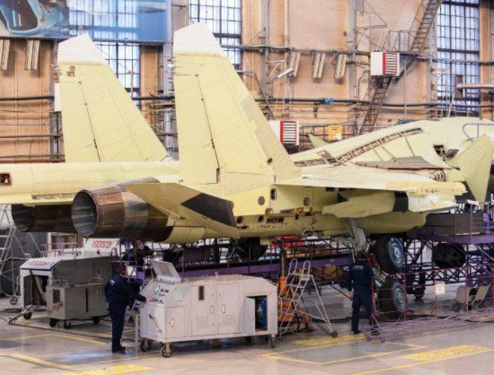 Ministério da Defesa da Rússia recebeu mais de dois planos Su-34