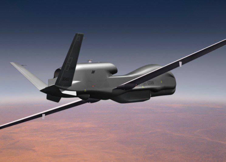 在美国,完成了战略无人机AGS的定期测试