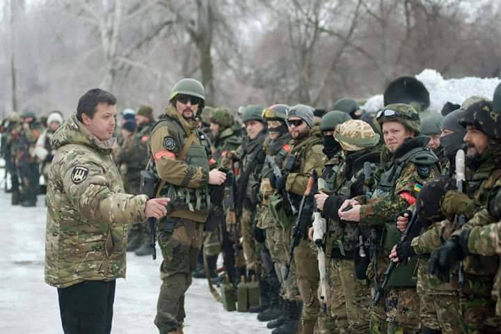 DPR intelligence: Kiev sent foreign mercenaries to the conflict zone in the Donbas near 300