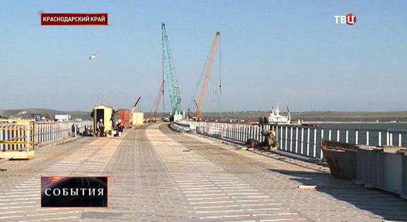 Rosavtodor将在2016开始时建造通往克里米亚的桥梁