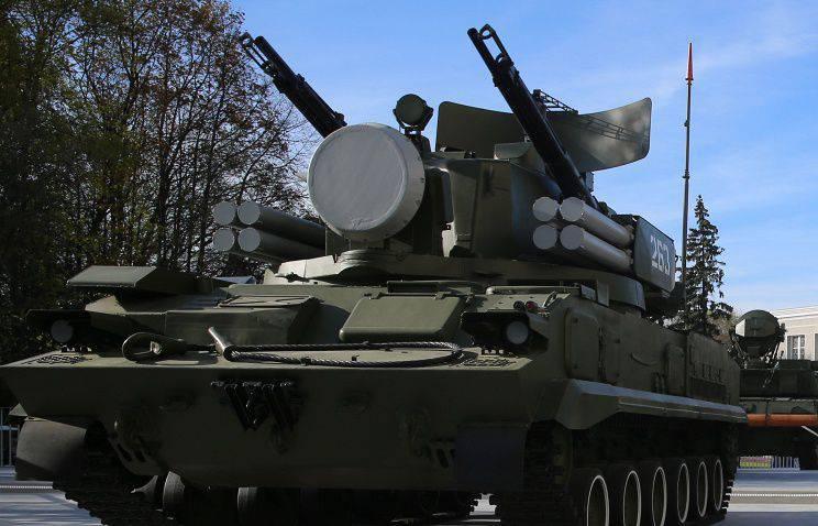 """""""Tunguska"""" et """"Shilka"""" seront remplacés par un nouveau complexe anti-aérien"""