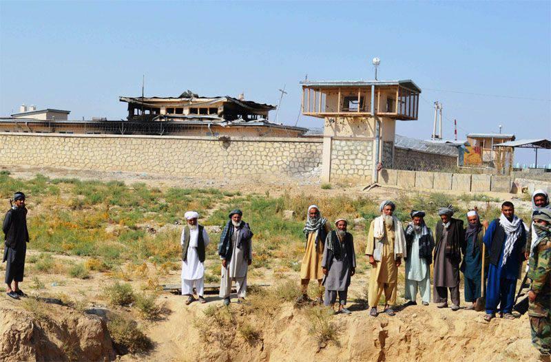 아프가니스탄 보안군, 아프가니스탄 - 투르크멘 국경에서 탈레반을 때려 눕힘.
