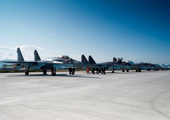 The newest Su-35S fighters for the first time took to duty in the Far East