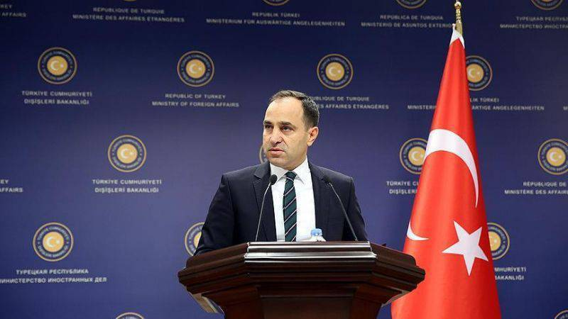 "Turkish Foreign Ministry: the Arab world showed a lack of understanding of Turkey's ""decisive and disinterested efforts"" in the fight against ISA"