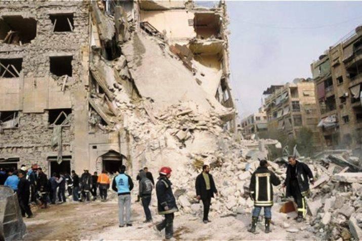 En el sur de Damasco, los militantes se dispusieron a entregar armas pesadas a las fuerzas gubernamentales.