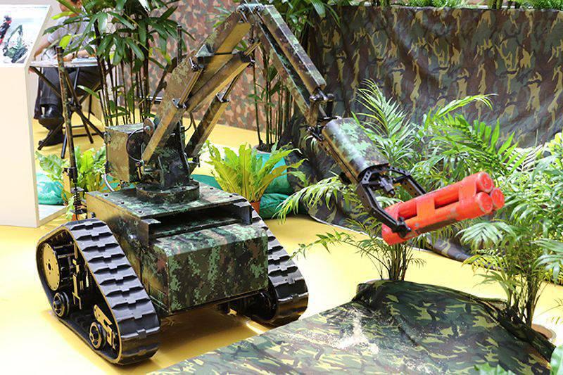 台湾展示了新的战斗DUM