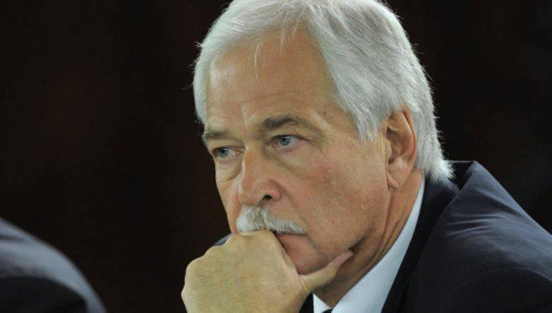 Gryzlov fue nombrado representante de la Federación Rusa en el grupo de contacto en Ucrania