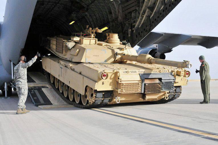 В 2014 г США продали оружия на рекордную сумму