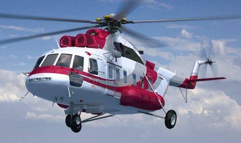 切梅佐夫:今天在该国生产的直升机数量与苏联时期的数量相当