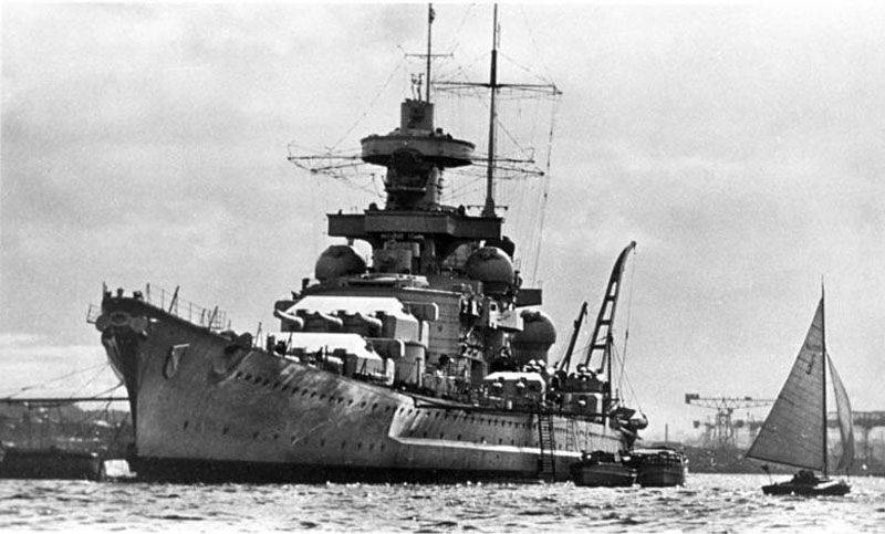 Scharnhorst. Creation, battles, trips and death of the German battleship