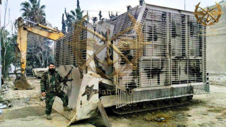 "Syrian military independently ""modernize"" civil engineering equipment"