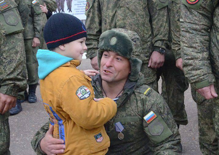 Marines Black Sea Fleet returned to Sevastopol from Syria
