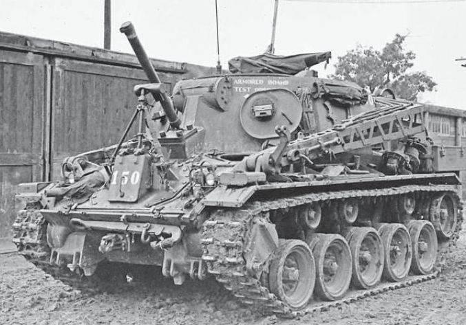 装甲修理和恢复车项目T6E1(美国)