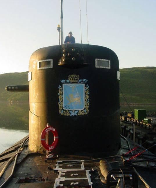 Dopo la riparazione, il sottomarino nucleare di Pskov è tornato nella flotta settentrionale