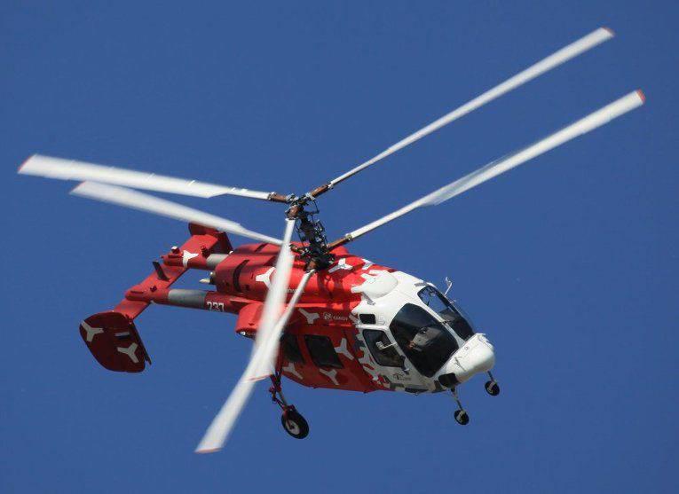La Russie et l'Inde organisent la production en commun d'hélicoptères Ka-226T