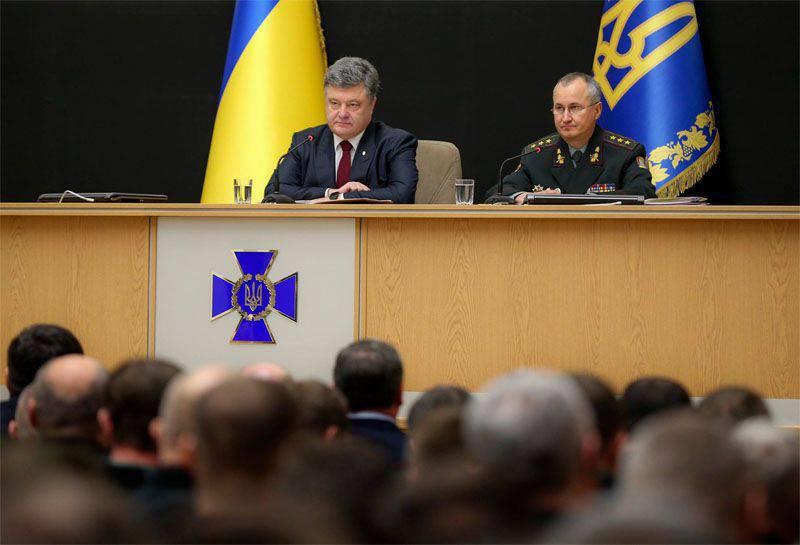 """Poroshenko """"exigió"""" crear el concepto del trabajo de la contrainteligencia ucraniana"""