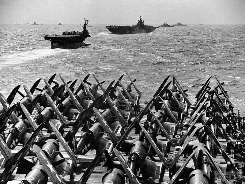 American aircraft carrier raid on Japan