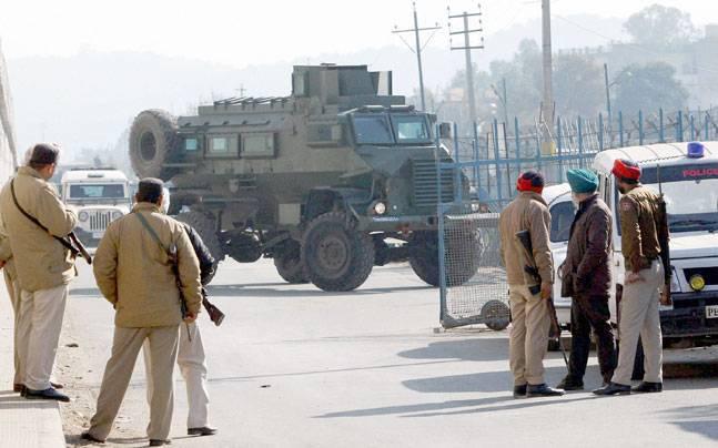 펀 자브 (인도)의 인도 공군 기지에 대한 두 차례의 공격