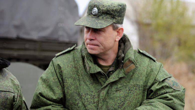 Basurin: new units of mercenaries appeared at the contact line from the Ukrainian side