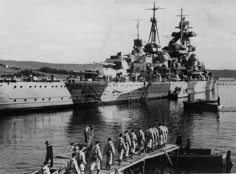 新年的战斗。 德国大舰队的结束