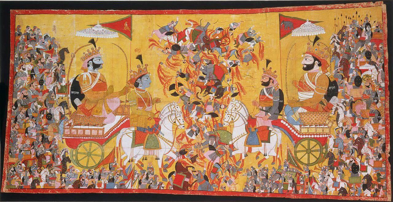 Величайшая битва древности на поле Куру
