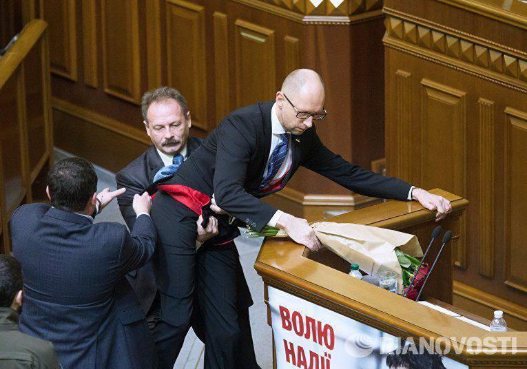 Kiev-2016: agonía del régimen, la política sobre la sangre