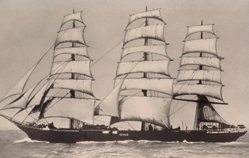 Caminhada do velejador de Seeadler ou Como a contagem se tornou um corsário?