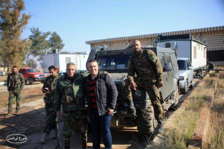 """Gepanzerter """"Luchs"""" im Einsatz in der syrischen Armee"""