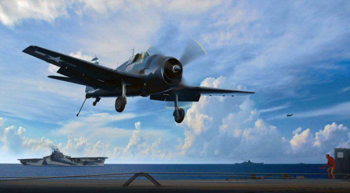 Grumman F6F Hellcat, ch.2